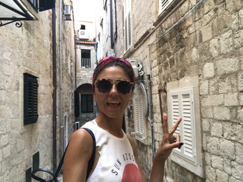 Dubrovnik Stari Grad sokaklarında kendini kaybeden ben :)