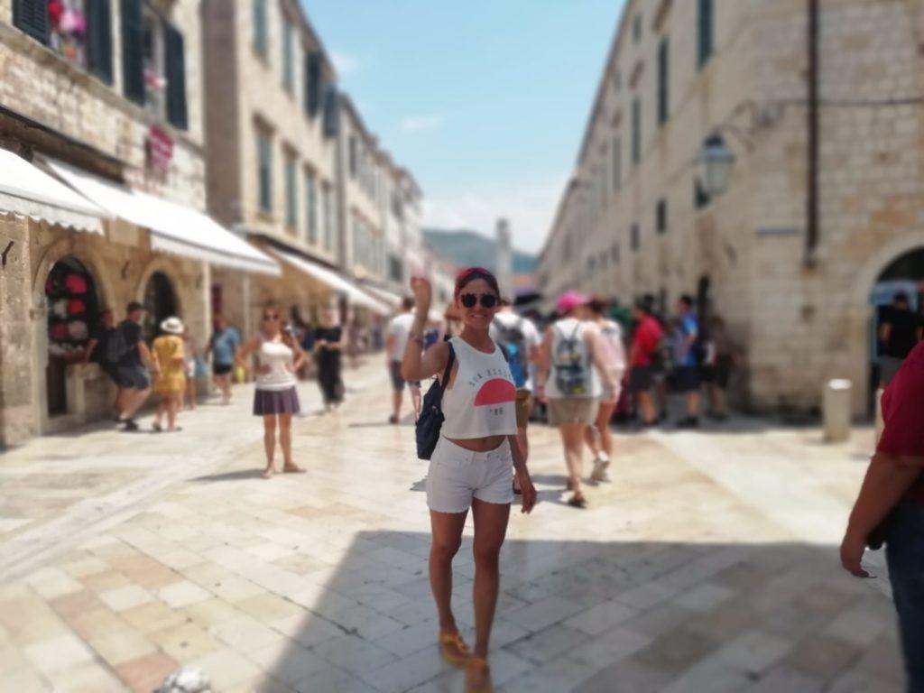 Dubrovnik Old Town - Stradun Caddesi'nde ben :)